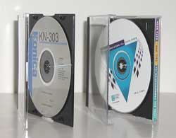 dvd packaged in a slimline jewel case